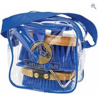 Cottage Craft Junior Horse Grooming Kit - Colour: Royal Blue