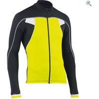 Northwave Sonic Long Sleeve Jersey - Size: L - Colour: Yellow- Black