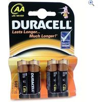 Duracell MN1500, size AA Batteries - Colour: Black