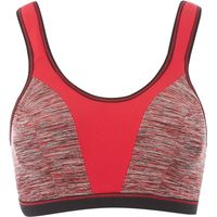Freya Force crop top soft cup sports bra, Cherry