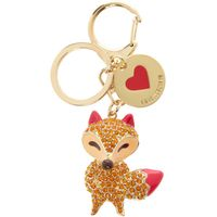 Love Moschino Fox keyring, Multi-Coloured