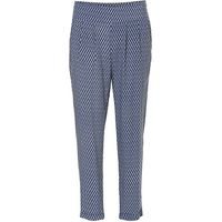 Betty & Co. Printed trousers, Blue
