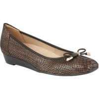 Naturalizer Dove ballet style flats, Metallic