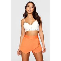 Scuba Colour Block Skort - orange