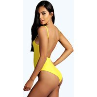 Extreme Scoop Back Body - yellow