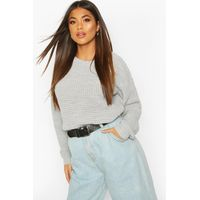 Oversized Vintage Jumper - grey