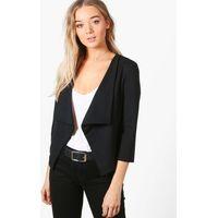Shawl Collar Blazer - black