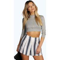 Striped Woven Shorts - multi