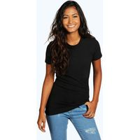 Basic Crew Neck T-Shirt - black
