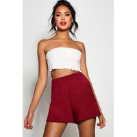 Jersey flippy Shorts - berry