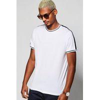 Stripe T-Shirt - white