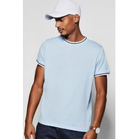 Stripe T-Shirt - blue