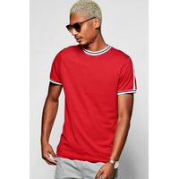 Stripe T-Shirt - red