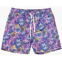 Print Swim Shorts - blue