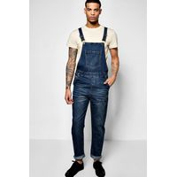 Washed Dungaree - denim