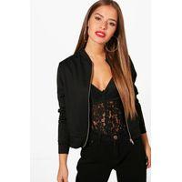 Nina Bomber Jacket - black