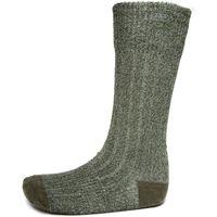 1000 Mile Mens Ultimate Heavyweight Walking Sock, Green