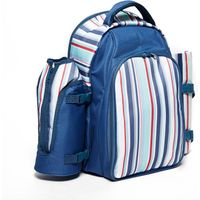 Eurohike Stripe Picnic Backpack (4 person), Blue