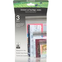 Lifeventure DriStore LocTop Bags - Valuables Pack, Clear