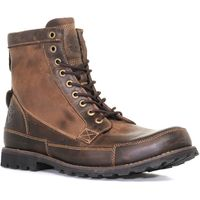 Timberland Mens Earthkeepers Original Leather Boots, Brown
