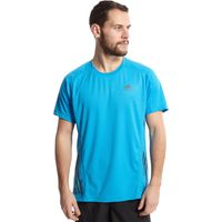 Adidas Mens SuperNova Short Sleeve Tee, Blue