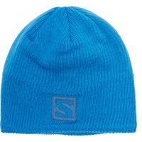 Salomon Logo Beanie Hat, Blue