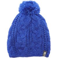 The North Face Womens Bigsby Pom-Pom Beanie, Blue