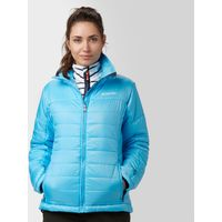 Columbia Womens Shimmer Flash Insulated Jacket, Blue