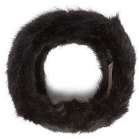 Barts Womens Fake Fur Headband, Black