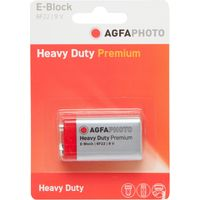 Agfa Zinc Chloride 9V Battery, Assorted