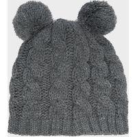 Peter Storm Kids Pom-Pom Hat, Grey
