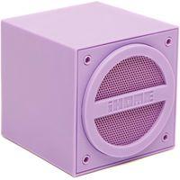 Ihome Wireless Rechargeable Mini Speaker Cube, Purple