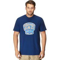 Weird Fish Mens Liquid T-Shirt, Navy