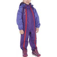 Kozi Kidz Girls Waterproof All-in-One Jumpsuit, Purple