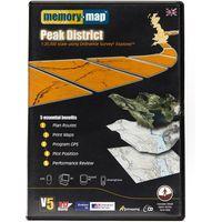 Memory Map Explorer Peak District CD ROM, Black