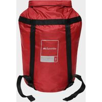 Eurohike 20 Litre Waterproof Compression Sack, Red