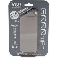 Ye Energy Pocket 4 Micro USB Power Bank, Grey