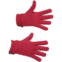 Peter Storm Girls Cable Knit Gloves, Pink