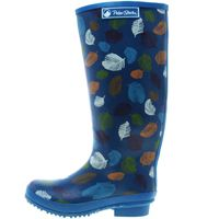 Peter Storm Womens Feathers Wellies, Blue