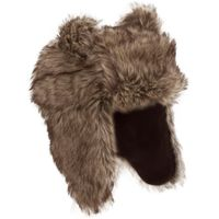 Peter Storm Girls Matilda Fur Trapper Hat, Brown