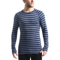 Peter Storm Mens Stripe Thermal Base Layer Top, Navy