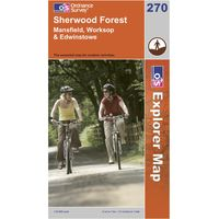Ordnance Survey Explorer 270 Sherwood Forest Map, Assorted