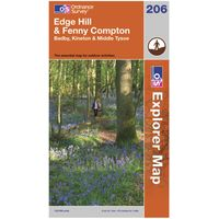 Ordnance Survey Explorer 206 Edge Hill & Fenny Compton Map, Assorted
