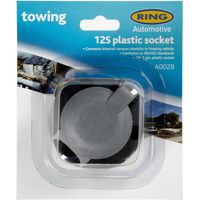 Ring 12S 7 Pin Plastic Socket (A0028), Multi