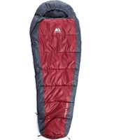 Eurohike Junior 200 Mummy Sleeping Bag, Red