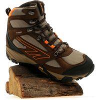 Hi Tec Mens V-Lite Peak Waterproof Boot, Brown