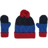 Peter Storm Boys Hat and Glove Set, Multi