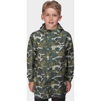 Peter Storm Boys Camo Packable Jacket, Camouflage