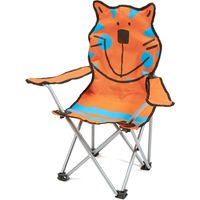 Eurohike Kids Tiger Chair, Orange