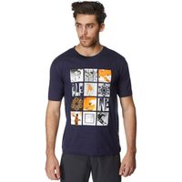 Peter Storm Mens Blocks T-Shirt, Navy